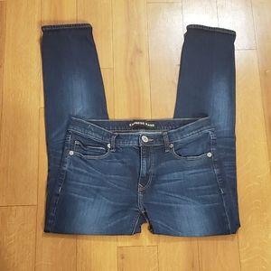 Express girlfriend skinny jeans size 4